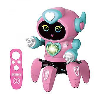 Six Claw Electric Dancing Robot Zabawki Światła Muzyka Wczesna edukacja Dzieci Prezenty