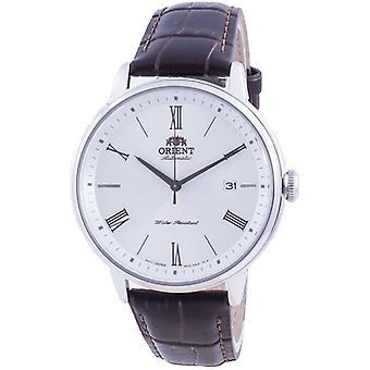 Orient Contemporary Valkoinen Dial Automaattinen Ra-ac0j06s10b Miesten kello