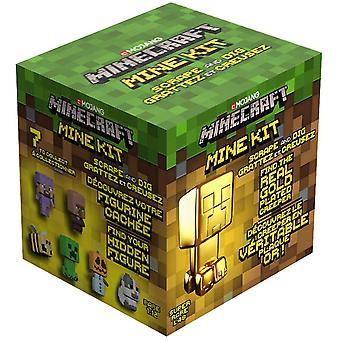 Minecraft Mine Kit (1 Zufallsfigur im Lieferumfang enthalten)