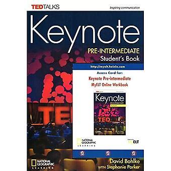 Keynote Pre-intermediate Student's Book + DVD-ROM +� Online Workbook