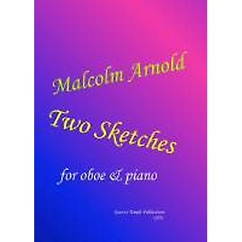 Two Sketches (Sir Malcolm Arnold) OBOE & PIANO