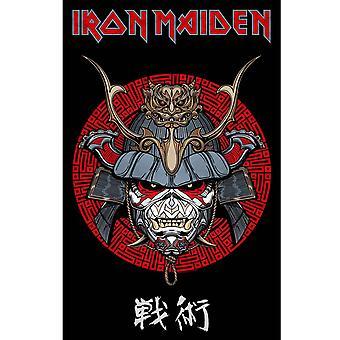 Iron Maiden Textile Poster Senjutsu Samurai Eddie new Official 70cm x 106cm
