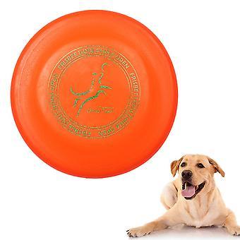 Disque volant pour chien 23cm, Frisbee pour chien résistant aux perforations