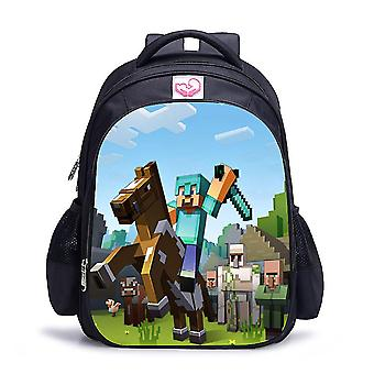 Minecraft वाटरप्रूफ बच्चों का बैग
