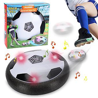 USB uppladdningsbar svävande fotboll boll set led lampor inomhus flytande luftfotboll