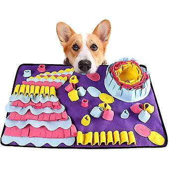 Šňupací podložka pro psy Domácí mazlíček Podložka Štěně Trénink Podložka Puzzle Hračky