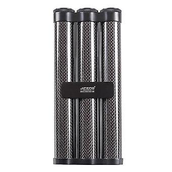1pcs Travel Cigar Case Carbon Fiber, Aluminum Alloy,portable Tube Accessories  Accessories
