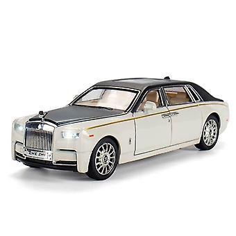 Phantom Model Car Toy Belt Light Pull  Metal Simulation Toy Car Children's Gift | Die-cast Toy Car