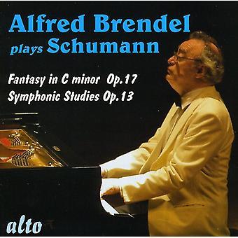 R. Schumann - Schumann: Fantasía en do mayor, Opus 17; Estudios sinfónicos, Op. 13 [CD] los E.e.u.u. las importaciones