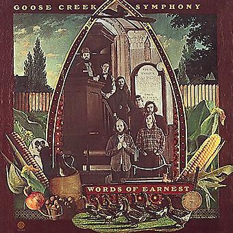 Goose Creek Symphony - Words of Earnest [CD] USA import