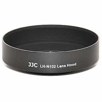 JJC vervanging Nikon HN-N102 zonnekap voor Nikon 1 NIKKOR 11-27,5 mm