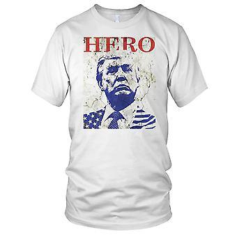 Präsident Trump Held Herren T Shirt