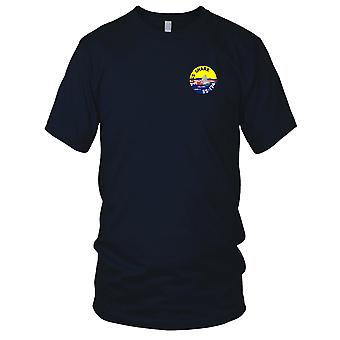 US Navy USS Shark SS-174 Embroidered Patch - Mens T Shirt