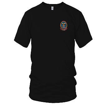 USMC fuzileiros ar apoio HMM-365 que os palhaços voador - guerra do Vietnã militar bordada Patch - Mens T-Shirt