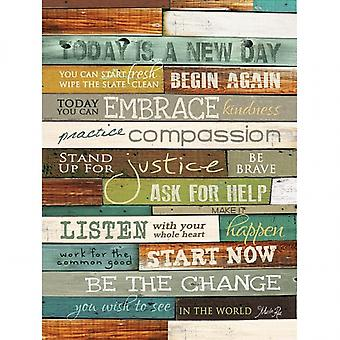 Today is a New Day Poster Print by Marla Rae (18 x 24)