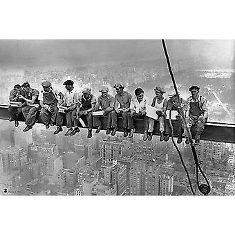 New York - Arbeiter Plakat Poster drucken