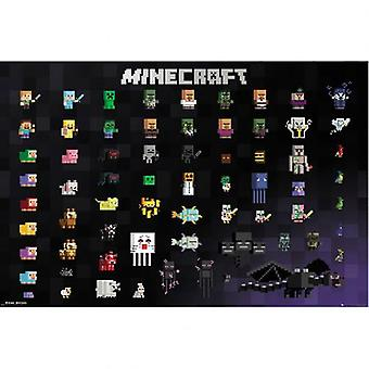 ملصق Minecraft 291