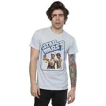 لوك سكاي ووكر النجوم الرجال والقميص ج-3PO