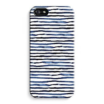 iPhone 5 / 5S / SE Full Print Case (Glossy) - Surprising lines