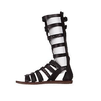 Zeven wijzerplaten Womens Sarita Open teen Casual Gladiator sandalen