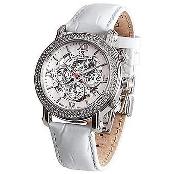 Carl of Zeyten ladies watch wrist watch automatic Kniebis CVZ0062WH