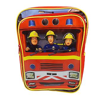 Trademark Fireman Sam Jupiter Red Backpack 9ltrs