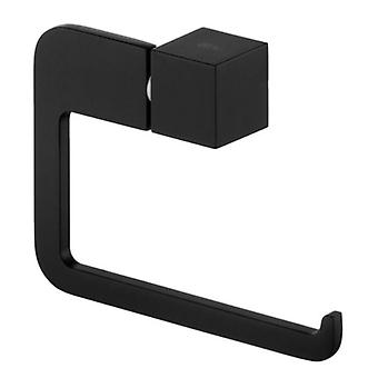 Toilettenpapier-Rack Wand Roll Holder modernen WC schwarz pulverbeschichtet Zamak
