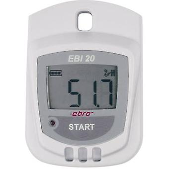 ebro EBI 20-TH1 Multi-channel data logger Unit of measurement Humidity, Temperature -30 up to +70 °C 0 up to 100 RH
