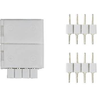 Paulmann 70490 conector YourLED (L x W) 1,8 cm x 1,3 cm