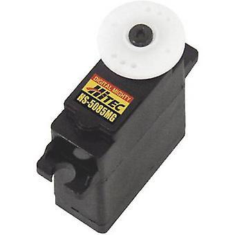 HiTec Mini servo HS - 5085MG Digital servo Gear box materiale: Metal stik system: JR