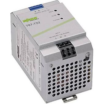 WAGO EPSITRON® ECO POWER 787-722 Rail mounted PSU (DIN) 24 V DC 5 A 120 W 1 x