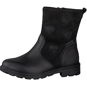 Ricosta Girls Stephanie RicostaTex Waterproof Boots Black