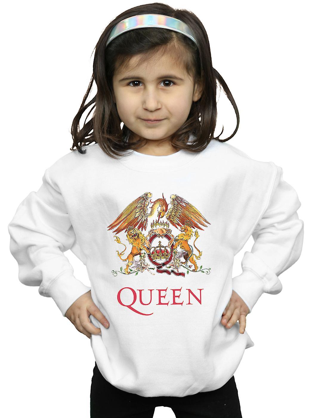 Queen Girls Crest Logo Sweatshirt