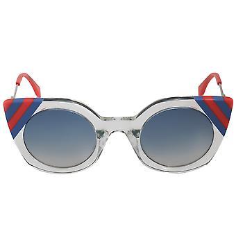 Fendi موجات فراشة النظارات الشمسية FF0240S 1ED UY 47