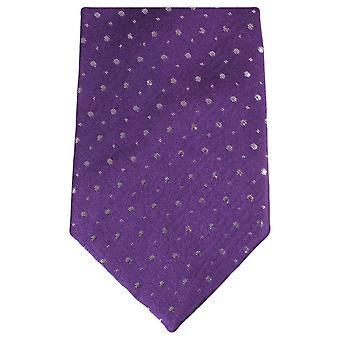 Knightsbridge kaulavaatteita Glitter Tie - violetti