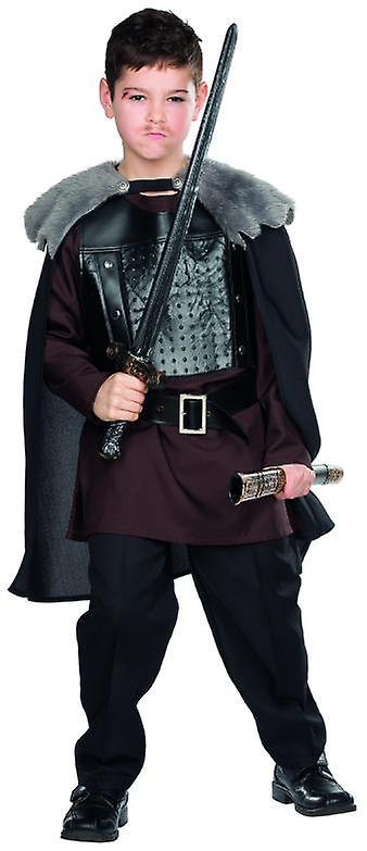 Wolf Warrior kostyme barn karneval Viking bar bare Warrior Knight middelalderske