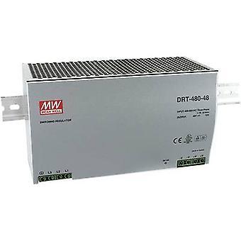 Keskimääräinen hyvin DRT-480-24 kisko asennettu PSU (DIN) 24 V DC 20 A 480 W 1 x