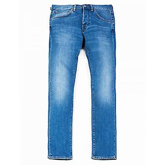 Edwin Jeans Ed-55 Loose Tapered Cs Power Blue Denim - Pacific Wash