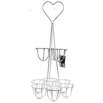 GISELA GRAHAM Egg Rack 36696 Cream