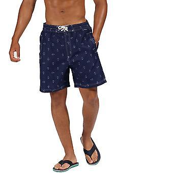 Regatta Mens Hadden II Quick Dry Swim Beach Board Shorts
