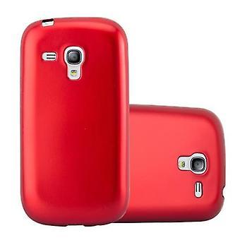 Futerał Cadorabo do obudowy Samsung Galaxy S3 MINI - Elastyczna silikonowa obudowa na telefon TPU - silikonowa obudowa ochronna Ultra Slim Soft Back Cover Case Bumper