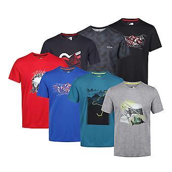 Regatta Mens Fingal IV t-skjorte