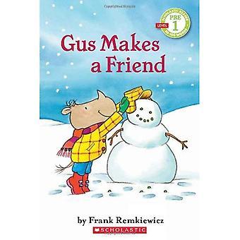 Gus maakt een vriend: scholastische Reader pre niveau 1 (scholastische Reader - niveau Pre1