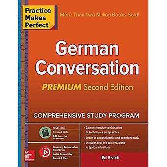 Övning ger färdighet: Tyska konversation, Premium andra upplagan