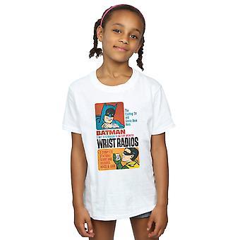 DC Comics Girls Batman TV-Serie Handgelenk Radios T-Shirt