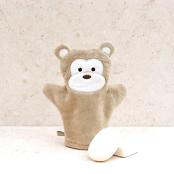 Cheeky Monkey bath mitt