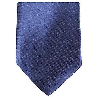Knightsbridge Neckwear slank Polyester uavgjort - Navy
