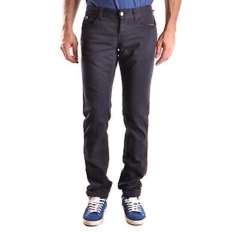 John Richmond Ezbc082046 Men's Blue Cotton Jeans