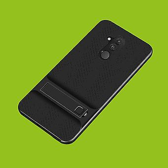 Para o híbrido de pé Lite Huawei companheiro 20 caso 2 pedaço SWL exterior saco preto capa case proteção