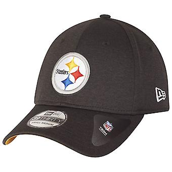 New era 39Thirty stretch Cap - SHADOW Pittsburgh Steelers